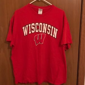 Wisconsin Badges T-shirt